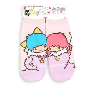Little Twin Stars mismatched Kiki and Lala socks